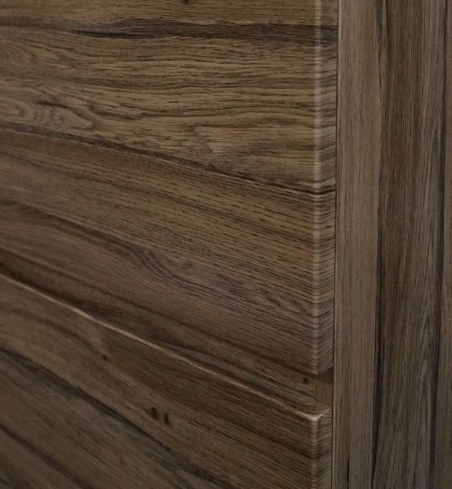 Asti 1500mm Walnut Oak Timber Wood Grain Pvc Thermal