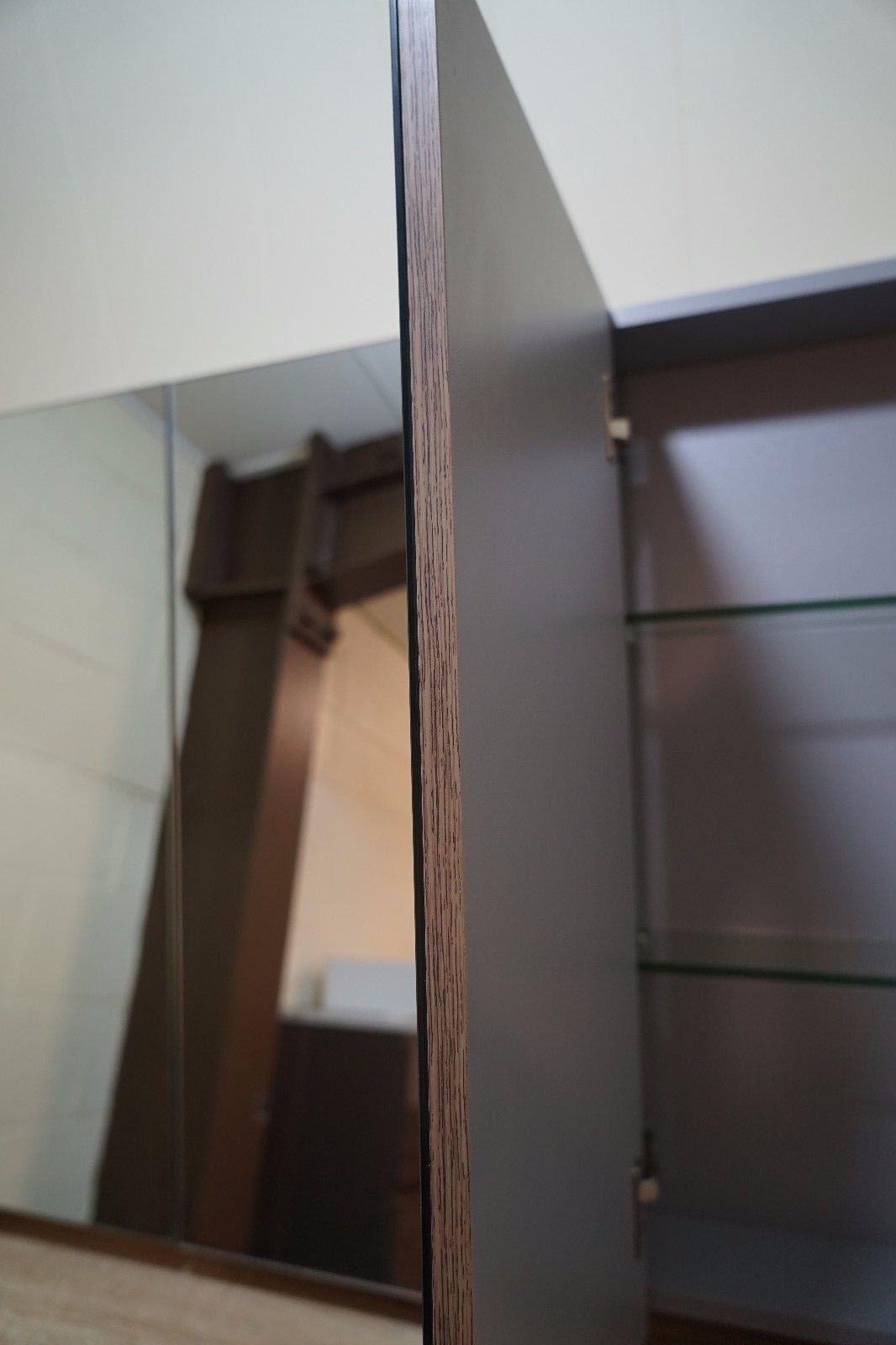 Shave Walnut Pvc Thermal Foil Timber Wood Grain Mirror