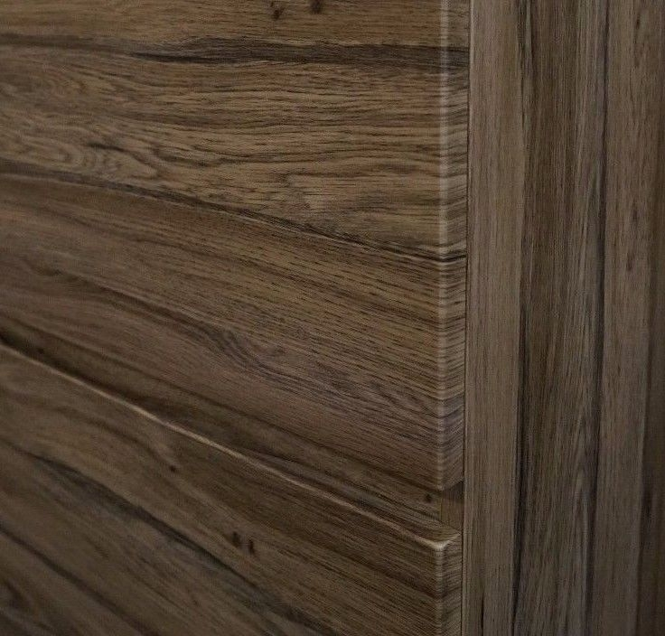 Asti 1200mm Walnut Oak Pvc Thermal Foil Timber Wood