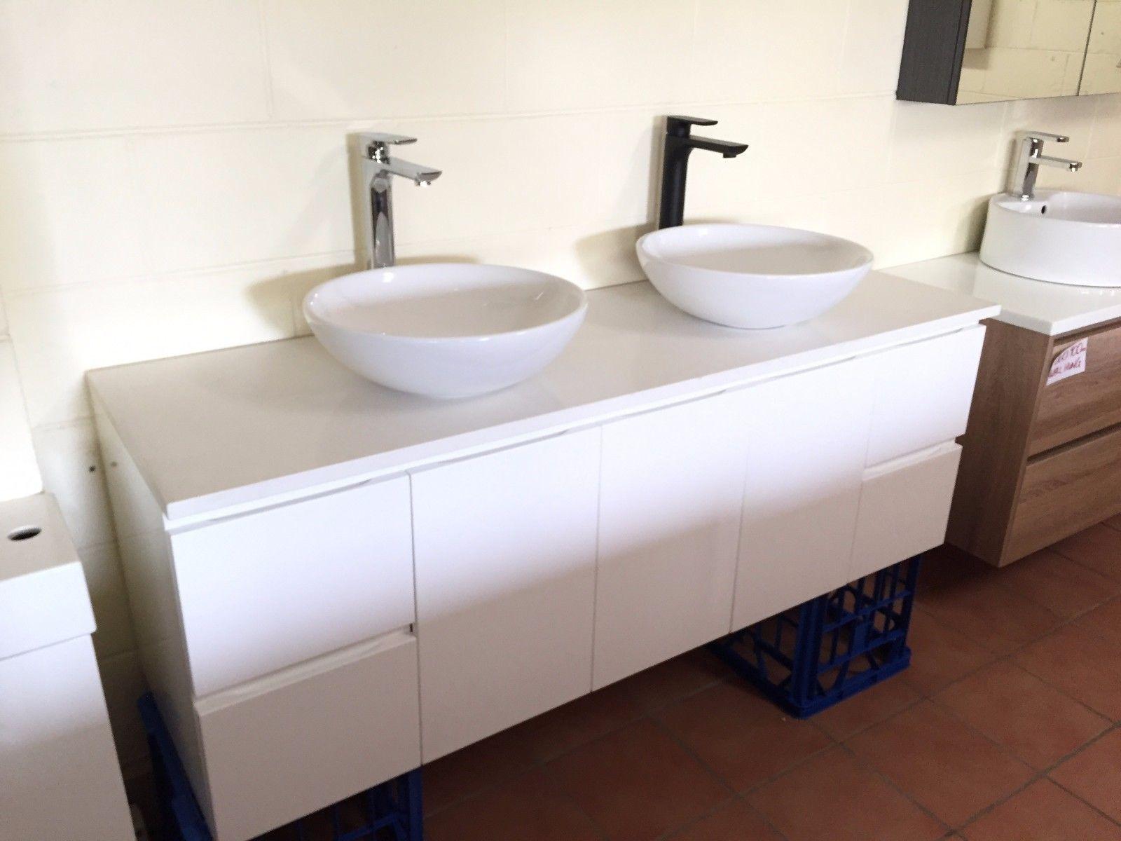 Plush Matte Black Tall High Rise Bathroom Basin