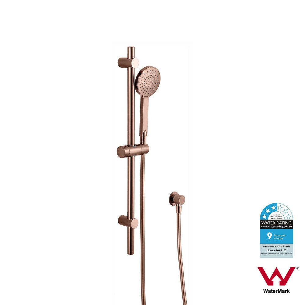 WELS Round Sliding Hand  Shower Rail Set