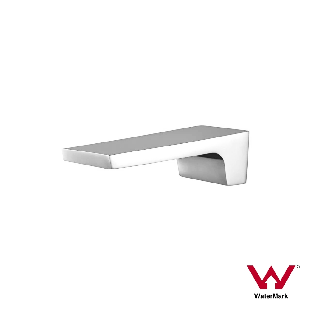 Square Waterfall Polished Chrome Wall Mount Water Spout | Homegear ...