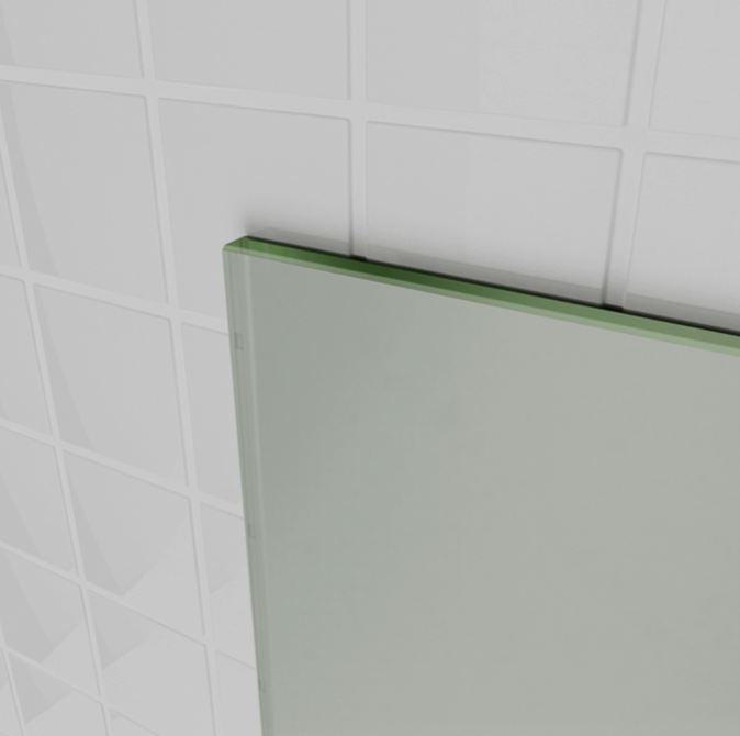 Awesome 1200mm Large Frameless Pencil Edge Wall Mounted Bathroom
