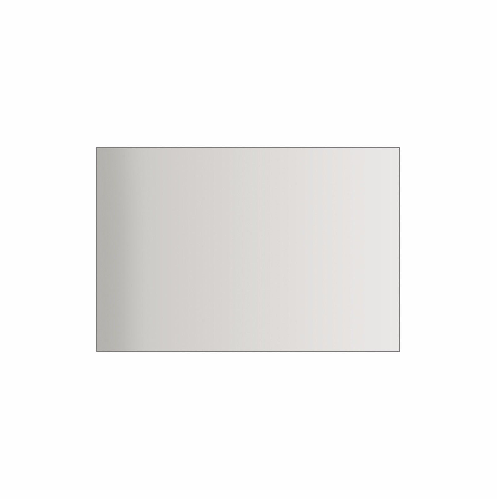 1200mm Large Frameless Pencil Edge Bathroom Mirror 1200x750mm Homegear Australia