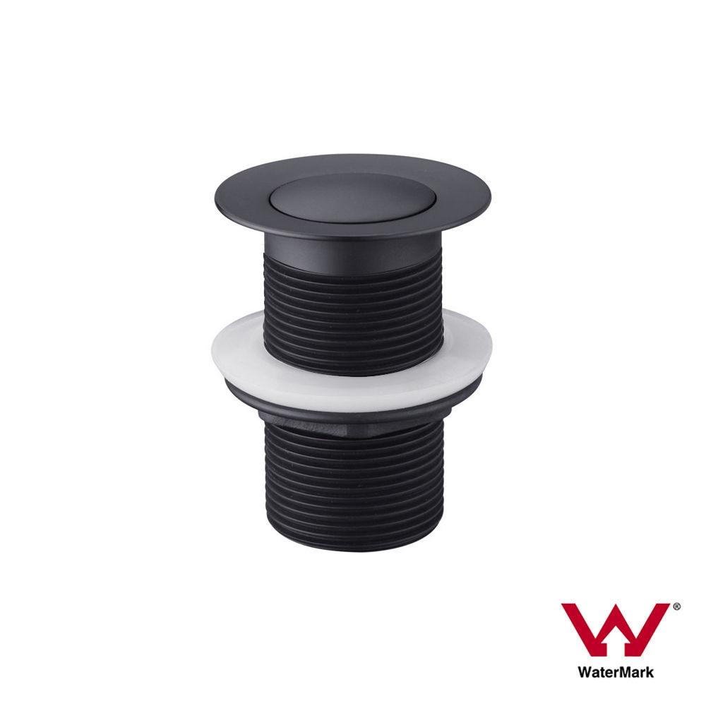 40mm Matte Black Pop Up Plug & Waste | Premium Electroplated ...