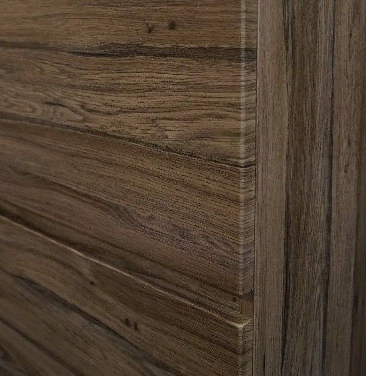 Bogetta 1200mm Walnut Oak Pvc Thermal Foil Timber Wood