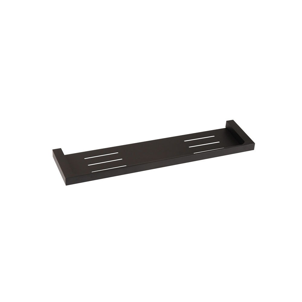 ETTORE | Square Matte Black Bathroom Shower Shelf / Tray | Homegear ...