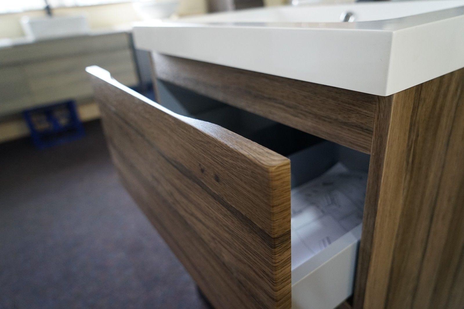 Bogetta 600mm Walnut Oak Pvc Thermal Foil Timber Wood