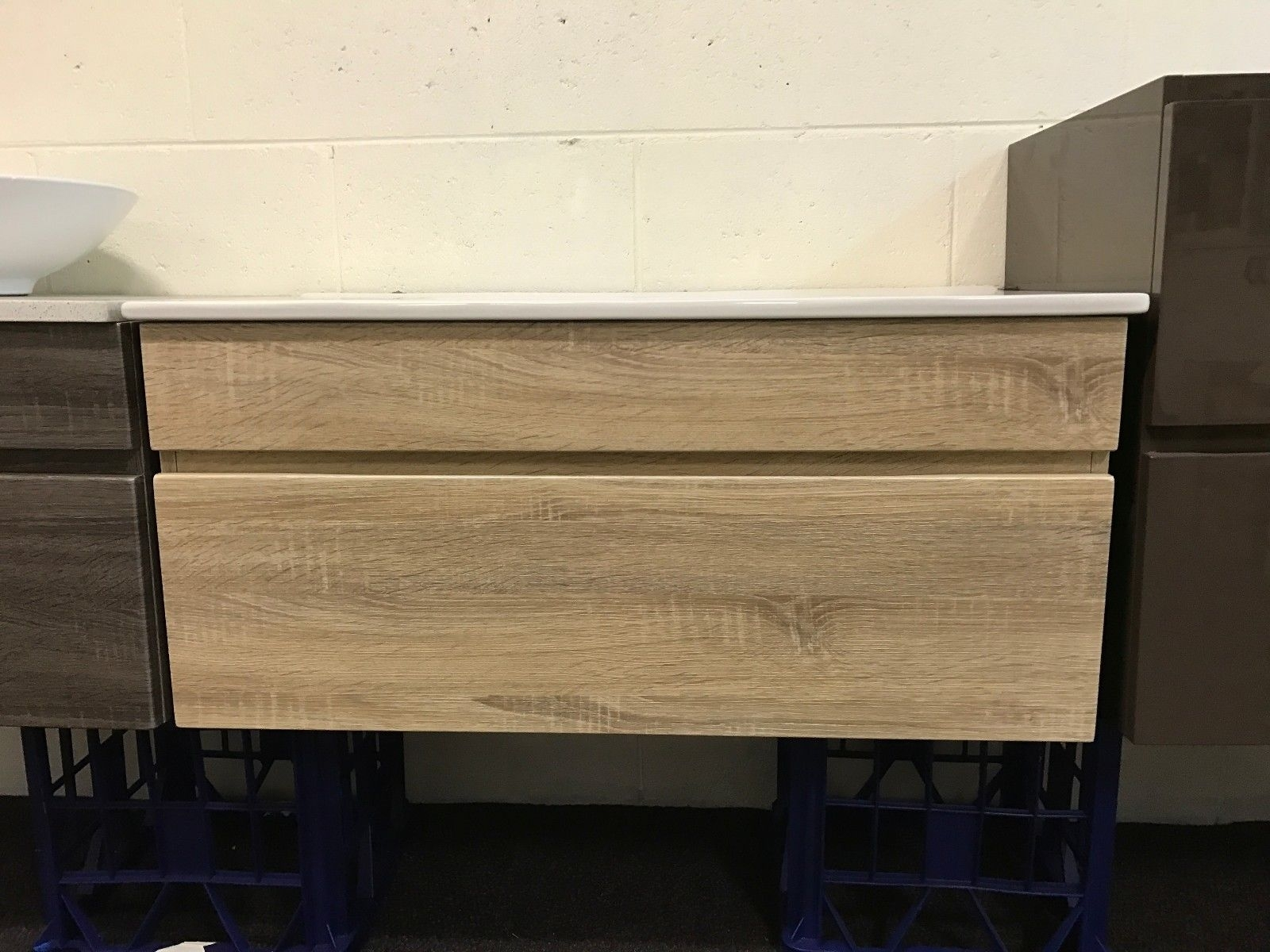 Asti 900mm White Oak Pvc Thermal Foil Timber Wood Grain