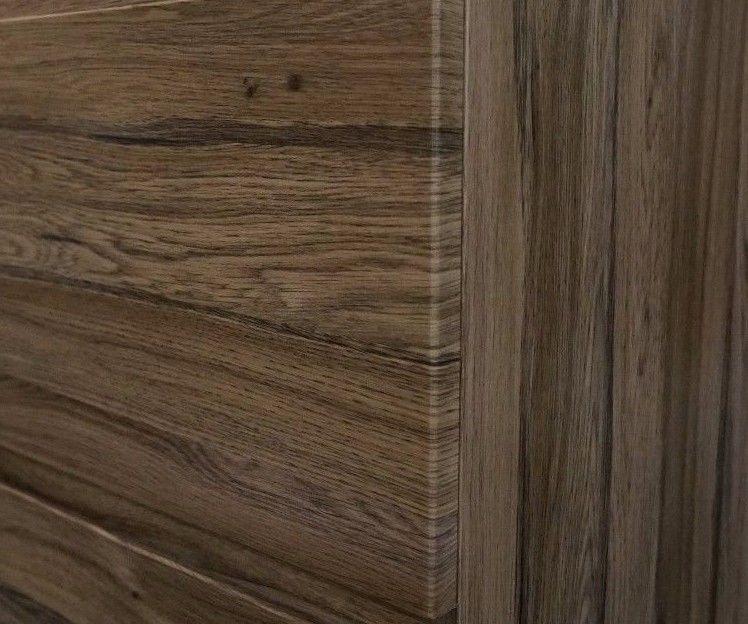 Asti 750mm Walnut Oak Pvc Thermal Foil Timber Wood Grain